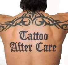 Aftercare Tattoo