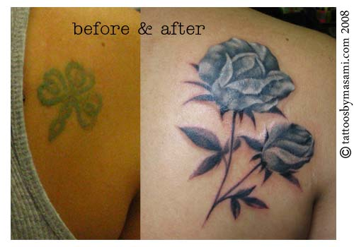 Cover up tattoo as an alternative to laser tattoo removal for How to cover tattoos