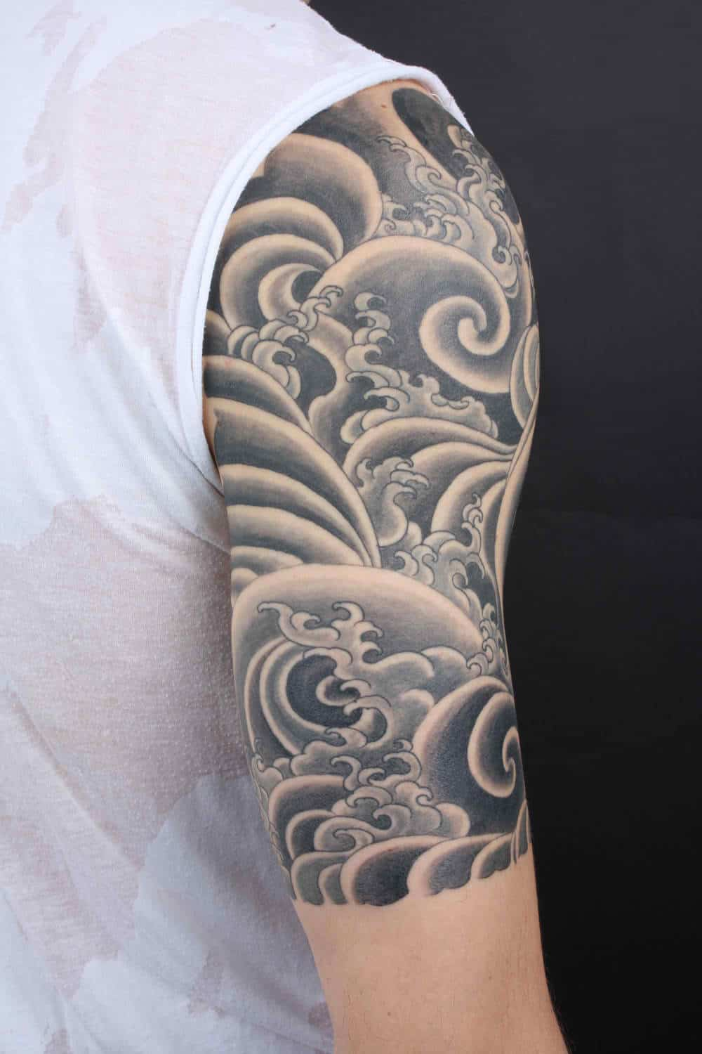 The basics of black and grey tattoo after inked tattoo for Black and grey tattoo designs