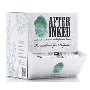 After inked tattoo after care lotion 90ml tube after for Tattoo aftercare bepanthen