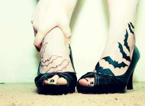 crazy tattoo designs foot tattoos tumblr. Black Bedroom Furniture Sets. Home Design Ideas